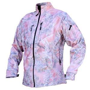 Kings Camo Pink Storm Fleece Jacket, Medium NWT